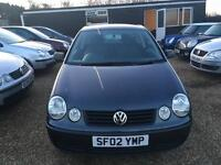 VW POLO 1.2 S 3DR 2002 IDEAL FIRST CAR CHEAP INSURANCE FULL SERVICE
