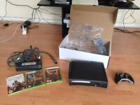 Xbox 360 120GB with controller and games