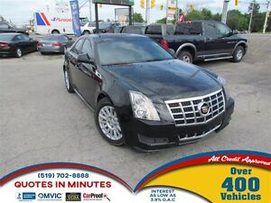 2013 Cadillac CTS 3.0L | LUXURY PACKAGE | SUNROOF | LEATHER