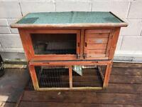 Guinea pig or rabbit hutch for sale £40 ovno