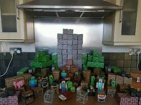 minecraft paper craft giant bundle