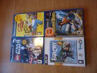 4 Playstation 2 Games