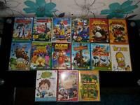 Children's DVDs £1 each