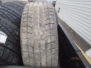 235/60R18 PAIR OF 2 ONLY USED MICHELIN WINTER TIRES