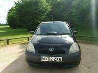 TOYOTA YARIS 1.0L 5DOOR 14SERVICES TOYOTA 2LADY OWNERS MOT TILL 12/11/2017 WARRANTED MILES