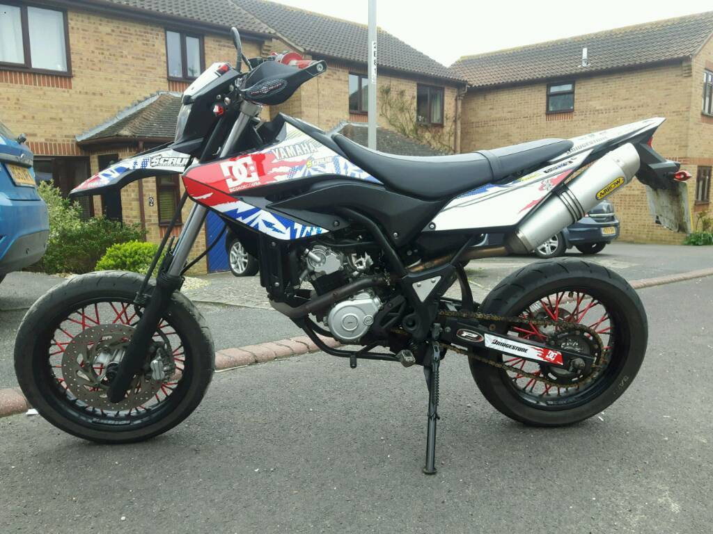 yamaha wr125x 2011 supermoto wr 125 like dtr dt mx kmx in weymouth dorset gumtree. Black Bedroom Furniture Sets. Home Design Ideas