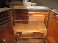 Fold-away Wooden Office