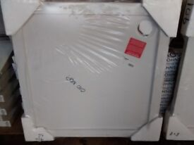 new in packaging 900x900 shower tray