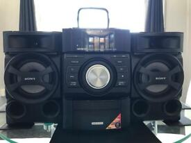 Sony stereo Genezi Mini Hi-fi Component System