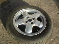 ronal 5 spoke alloy wheels