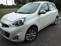 2014 NISSAN MICRA 1.2 PETROL 1 YEARS MOT CAT C VERY LOW MILEAGE 1700 iMMACULATE CONDITION