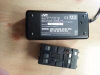 JVC AA-V11EK charger and Duracell DR11 6V Battery - Chatham