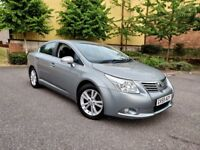Toyota Avensis D4D T4 FSH leather interior Excellent condition