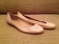 Baraboux, Ballerina Flat Shoe, Mauve