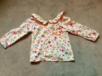 Beautiful viscose shirt by NEXT age 2-3 years