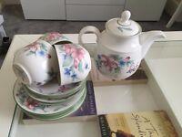 Royal Doulton Carmel Floral Tea set