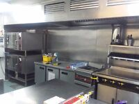 COMMERCIAL KITCHEN TO HIRE IN SPITALFIELDS