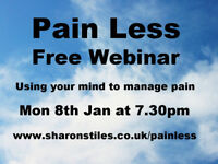 Free pain reduction webinar