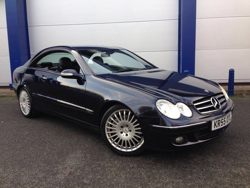 mercedes benz clk 220 2 1 cdi avantgarde blue 2005 coupe diesel in hayes london gumtree