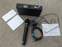 OPTIMUS - VHF WIRELESS MICROPHONE SYSTEM