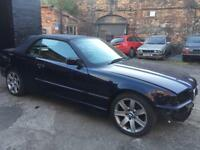 Bmw e36 328i m52b28 orient blue cabriolet convertible breaking