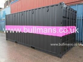 20ft new build / single trip shipping containers repainted in the colour of your choice for sale