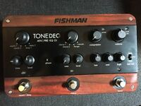 Fishman Tone DEQ Acoustic Guitar Pre-Amp and FX Pedal