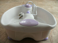 Used Foot spa massager in original box