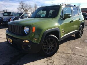 2016 Jeep Renegade NAVIGATION BACKUP CAM 6SPEED