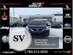 2013 Nissan Versa SV | 1.6 | Well Equipped | Dual DVD Screens