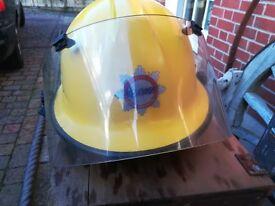 Atomic Weapons Energy F500 Visored Fire Helmet