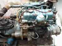 perkins 4108 deisel engine and box