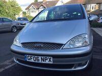 2006 FORD GALAXY 1.9 tdi Z-TEC DIESEL 115bhp 5dr 7seats MPV,SILVER Color,06 Reg 101000 Miles,1 Owner