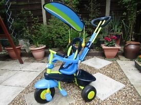 Smart trike, 3 in 1 - Blue/Green