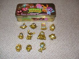 Moshi Monsters Gold Monster Collection