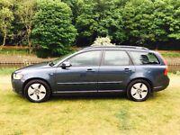 2009 VOLVO V50 1.6 DIESEL ESTATE FULL SERVICE HISTORY FULL MOT £30 TAX CRACKING CAR