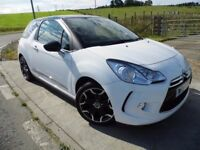 CITROEN DS3 1.6 E-HDI DSTYLE PLUS 3d 90 BHP 12 Months Parts & Labour Warranty