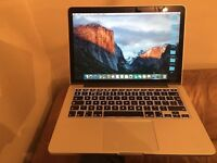 Apple MacBook Pro 11'1 13 built date mid 2014