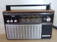 """VINTAGE USSR """"ASTRAD F8-TR17-B205"""" RADIO LW/MW/ FW/SW BANDS /1974"""
