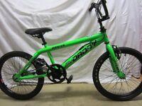 "Rooster Big Daddy 20"" BMX Bike Green/Black"