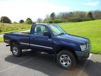 toyota hilux 4x4 2.4td owned from new very low miles 35500