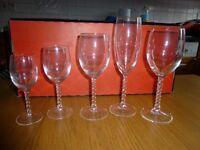 Cristal D'Arques Fleurie Glasses