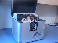 dj equipment flight case 50 drum n bass vinyl £2 each for vinyl