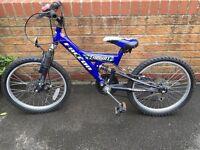 Boys bike 11 inch frame