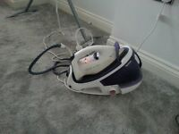 Tefal steam generated iron GV 8430 works alright all lights come on needs slight attention on steam
