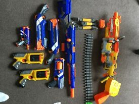 Nerf guns perfect Christmas present