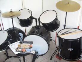 Tiger full drum set complete