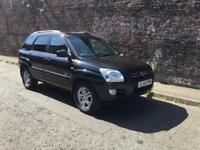 2007/56 KIA SPORTAGE XS 2.0D 4WD FULL LEATHER DRIVES A1 LONG M.O.T !!!!