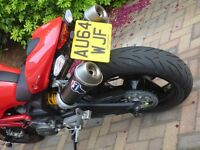2014 Ducati Monster 696+ Termignoni exhaust carbon