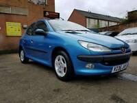 1999 Peugeot 206 1.4 Automatic - Low Mileage - 6 Months Warranty